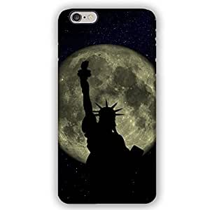 Statue of Liberty against Full Moon New York City iPhone 6 Armor Phone Case