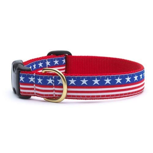 - Up Country Stars and Stripes Dog Collar - Medium