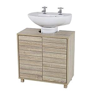 House & Homestyle Meuble sous évier, Marron, 60H x 60W x 30D