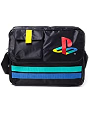 Playstation Messenger Bag Classic Retro Logo Official Sony Black One Size