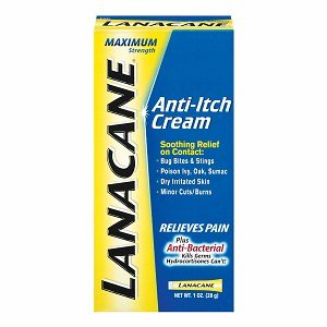 Lanacane Cream, Pain & Intense Itch, Maximum Strength, 1-Ounce Boxes (Pack of 3)