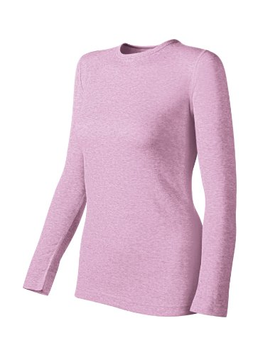 Duofold Midweight Two Layer Long Sleeve Crew Womens (Wool 2 Crew Womens Shirt)