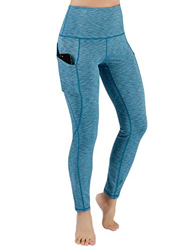 ODODOS Out Pocket High Waist Yoga Pants,Tummy Control,Pocket Workout Yoga Pant 2