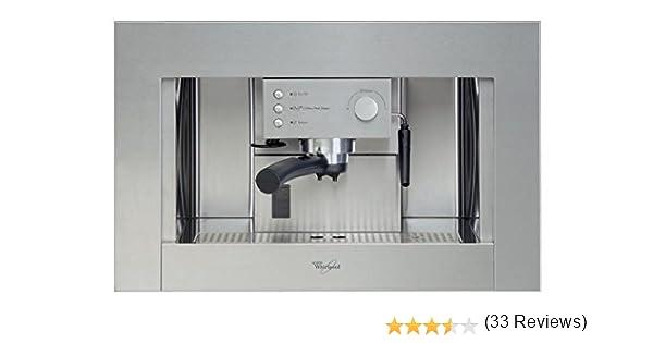 Whirlpool - Cafetera Encastre Ace010Ix, Espresso, Semi-Automatica ...