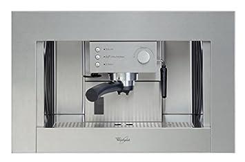 Whirlpool - Cafetera Encastre Ace010Ix, Espresso, Semi-Automatica, 15 Bar, 1.5L, Inox: 323.07: Amazon.es: Hogar