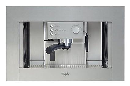 Whirlpool - Cafetera Encastre Ace010Ix, Espresso, Semi-Automatica, 15 Bar, 1.5