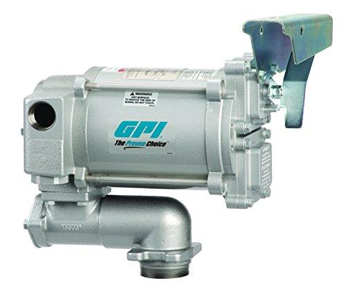 - GPI 133600-200, M-3120-AV-PO High Flow Cast Iron Aviation Fuel Transfer Pump, 20 GPM, 115-VAC, 1-Inch FNPT Outlet