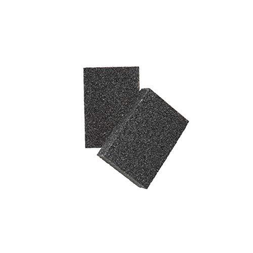 Cleaning Sponge & Scouring Pads with Carborundum - Black Caspian Stone - Best Eraser Sponges for Scrubbing Kitchen, Bathroom, Pots, Pans, Sinks - Just Add Water No Detergent Needed (4)