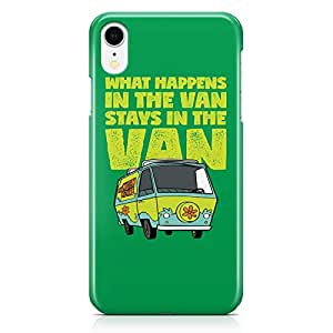 Loud Universe Scooby Doo Van iPhone XR Case Scooby Doo Quote iPhone XR Cover with 3d Wrap around Edges