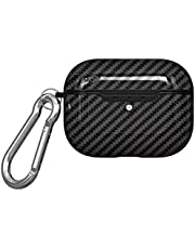 AirPods Pro Case, Ultra Thin 360 degree Full Body Protective Shockproof Shockproof Wireless Charging Earbuds Cover Skin Headset Case Cover Black
