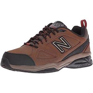 New Balance Men's MX623v3 Training Shoe, Brown, 8.5 4E US