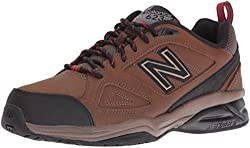 New Balance Men's Mx623v3 Training Shoe, Brown, 11.5 4e Us