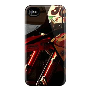 BretPrice Slim Fit Tpu Protector OMs195nSMi Shock Absorbent Bumper Case For Iphone 4/4s