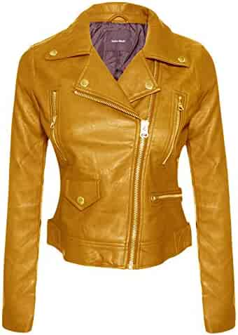 b1de839a0 Shopping Yellows - Leather & Faux Leather - Coats, Jackets & Vests ...