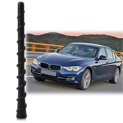 Antenna Mast Perfect Replacement Screw Thread Antenna Fit BMW 3 Series M240I Convertible 128I Z3 Z4 Short Antenna ()