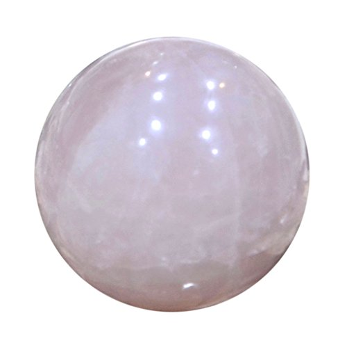 Aatm Reiki Energized Rose Quartz Ball Stone Of Love & Relationship by Aatm (Image #2)