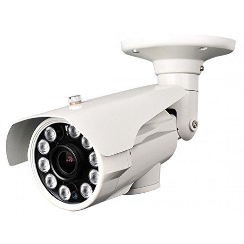 HDView® 2.4MP HD-TVI HD Megapixel License Plate SONY Sensor Camera Outdoor Turbo Platinum EXIR Bullet 6-22mm lens 1080P 10 Matrix IR, ONLY WORK WITH HD-TVI DVR