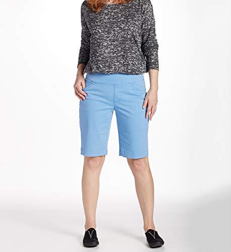 Jag Jeans Women's Ainsley Pull on Bermuda Short, Riviera, 4