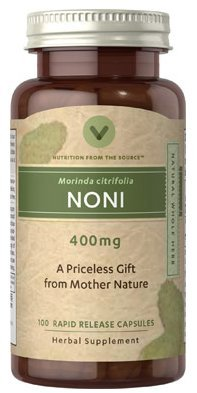Vitamin World Noni 400mg 100 capsules
