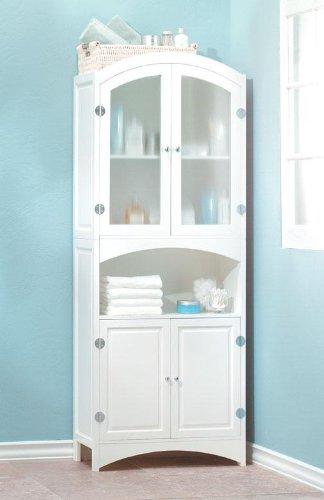 New White Linen Cabinet