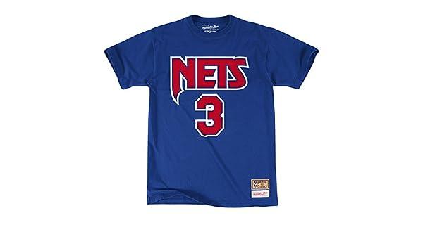 Camiseta de Drazen Petrovic de los New Jersey Nets nombre y número: Amazon.es: Deportes y aire libre