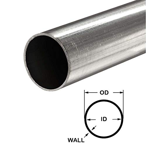 (Online Metal Supply 304 Stainless Steel Round Tube, 3/4