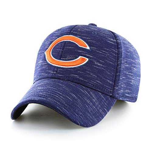 NFL Chicago Bears Men's Space Shot OTS All-Star Adjustable Hat, Storm, One Size ()
