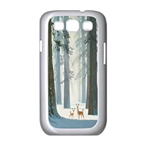 Unique Design -ZE-MIN PHONE CASE- For Samsung Galaxy S3 -Animal Deer-CUSTOM-DESIGH 17