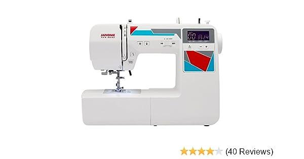 Amazon.com: Janome MOD-100 Computerized Sewing Machine with 100 ...