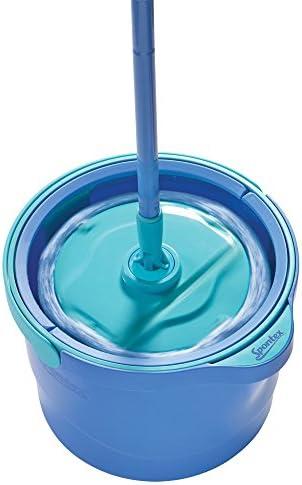 Spontex Aqua Revolution System Microfibre Spin Mop and Bucket