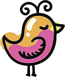 amazon com cute colorful baby chick chicken drawing cartoon vinyl