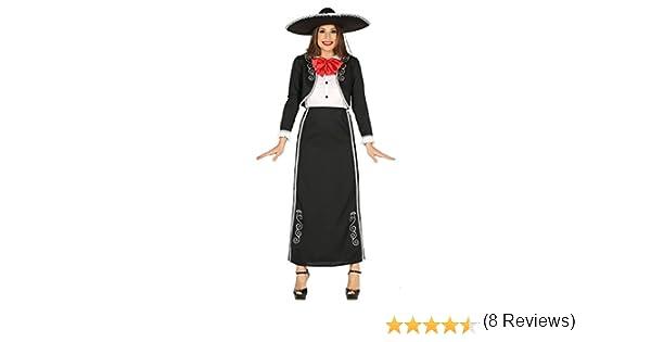 Guirca- Disfraz adulta mariachi, Talla 42-44 (88249.0): Amazon.es ...