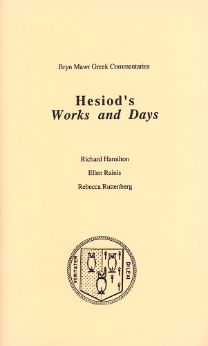 Works and Days (Bryn Mawr Commentaries, Greek)