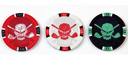 Tattoo Golf Hat (Tattoo Golf Casino Chip Golf Ball Markers - Set of 3)