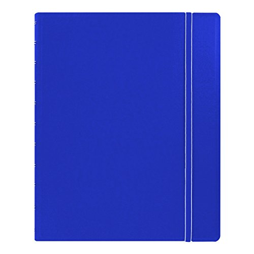 "Filofax Letter Size Notebook, 10.875"" x 8.5"", 112 Ruled Pages, Blue (B115103U)"