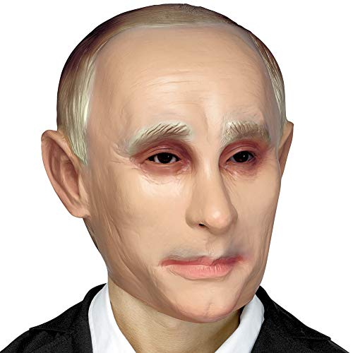 Fun World Vladimir Putin Political Pundit Pvc Halloween Mask - The Russian President