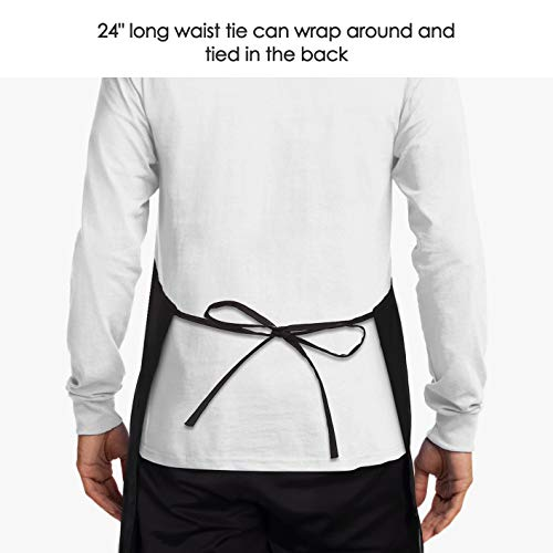 I'll Feed All You - Funny Apron for Men with 2 Pockets Adjustable Neck Strap 7