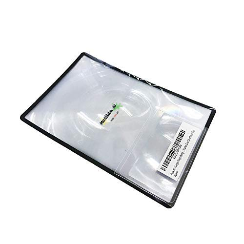 c864a53cd091 Amazon.com  Fresnel Lens of 2 Large+ Bonus Wallet Size Fresnel Plastic Lens  Magnifier for Reading 3X Fresnel Magnification Glass Aid Small X Book.