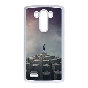 LG G3 Cell Phone Case White_Imagine Dragons Night Visions Ravbr