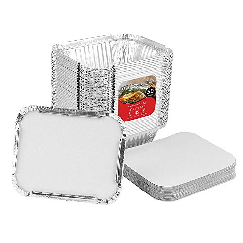 tin foil containers with lids - 8
