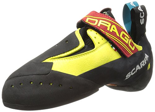 - SCARPA Drago Climbing Shoe, Yellow, 39.5 EU/7 D US