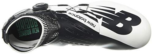 New Balance Men's Sigma V2 Vazee Track Shoe White/Black 4 D US by New Balance (Image #8)