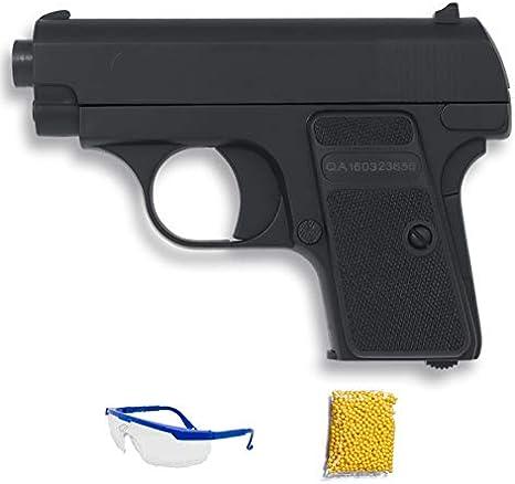 P328 Double Eagle Pistola de Airsoft Calibre 6mm (Arma Aire Suave de Bolas de plástico o PVC). Sistema: Muelle. <3,5J