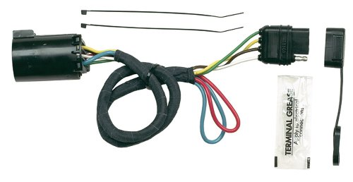 Hopkins 41155 Plug-In Simple Vehicle Wiring Kit (2011 Ford Edge Trailer Hitch)