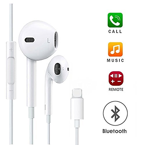 Earbuds, Microphone Earphones Stereo Headphones Noise Isolating Headset Made Compatible with iPhone 7/7 Plus /8/ 8Plus / X iPhone Xs/Xs Max/XR Earphones,Earbuds