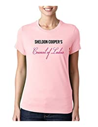 Sheldon Cooper's Council of Ladies T-Shirt as seen on the Big Bang Theory