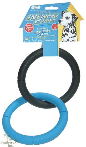 Jw Pet Products Invincible Chains Large Double Ring 6' Diameter Toys