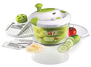 The Sharper Image 5 in 1 Mandoline Slicer