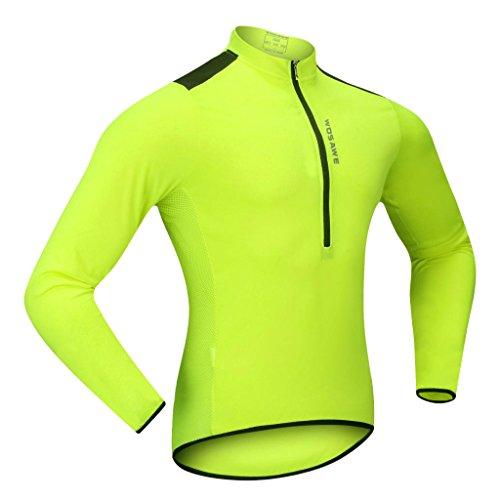 [해외] Baosity 폴리에스테르제 사이클링 (jersey)저지 사이클링 재킷 긴 소매 소프트 쉘 서멀(thermal) 플리스(fleece)