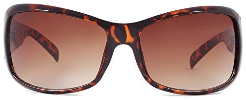 CrushEyes Nostalgic Sunglasses, Tortoise, ()